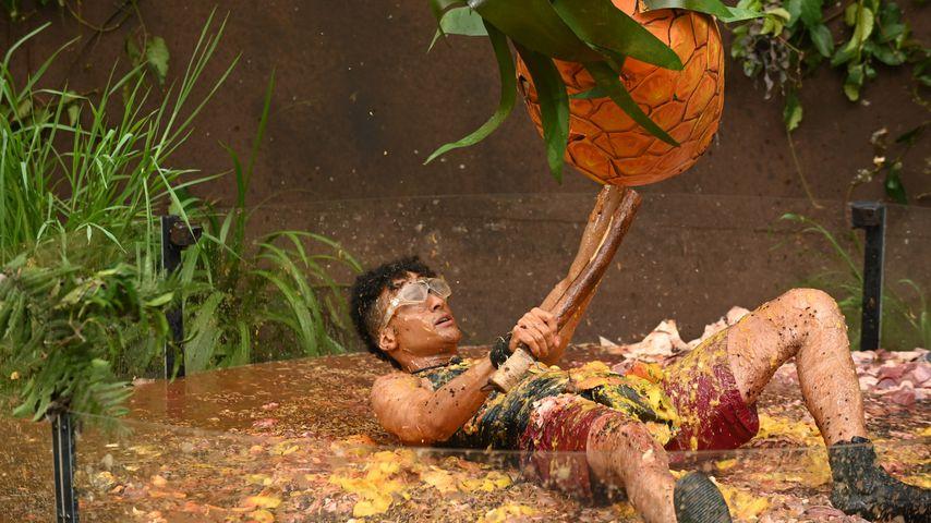 Prince Damien bei der Dschungelprüfung