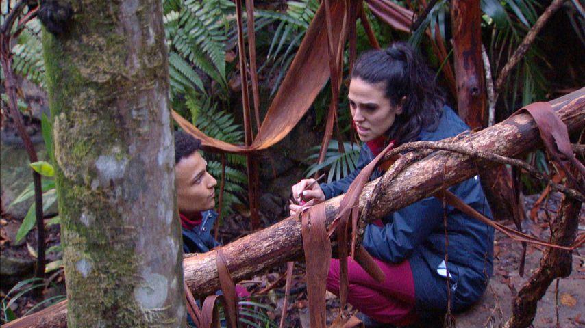 Prince Damien und Elena Miras im Dschungelcamp