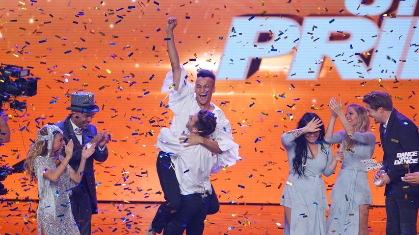 "Prince Damien & Luca Hänni gewinnen ""Dance Dance Dance"""