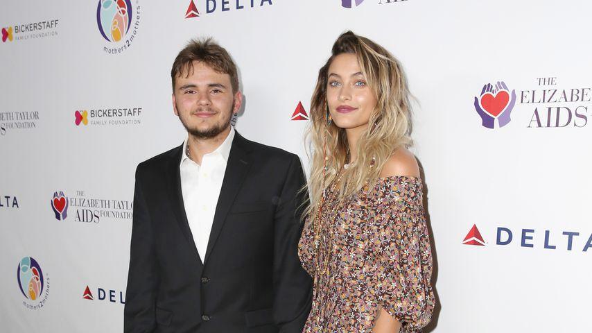 Prince Jackson und seine Schwester Paris bei einer Charity-Veranstaltung