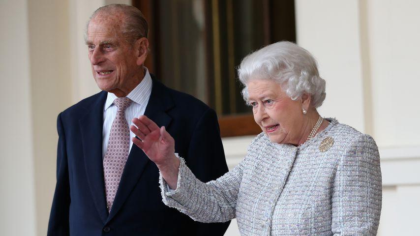 Prinz Philip und Queen Elizabeth II. im Oktober 2014