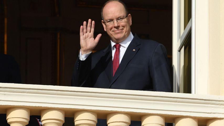 Prinz Albert II. von Monaco bei einer Zeremonie in Monaco im Januar 2020