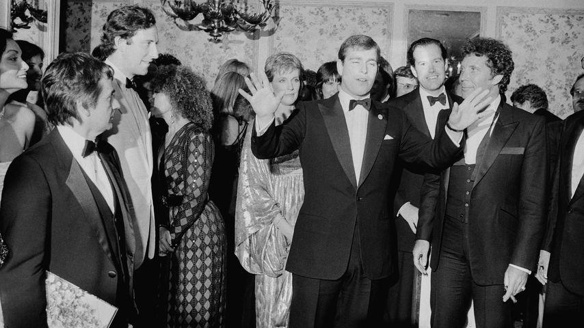 Prinz Andrew im April 1984