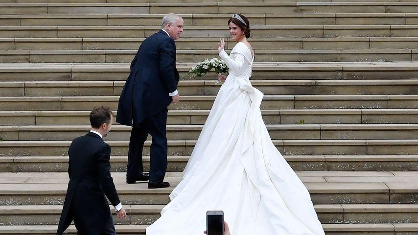 Prinzessin Eugenie bei ihrer Hochzeit