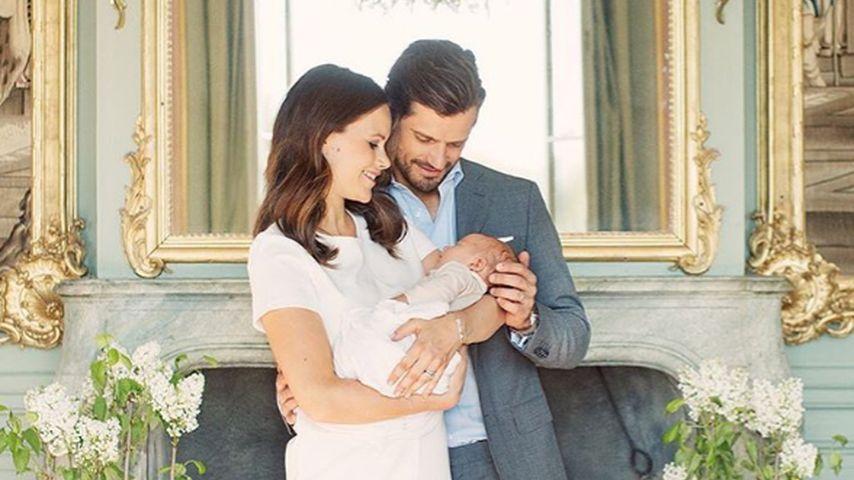 Prinz Carl Philip von Schweden, Sofia Hellqvist und Prinz Alexander