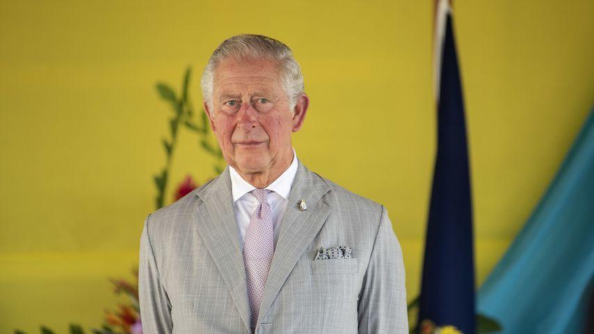Prinz Charles auf den Salomon-Inseln