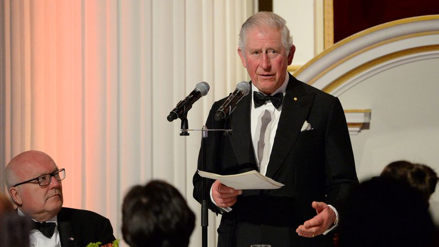 Prinz Charles bei einem Dinner in London im März 2020