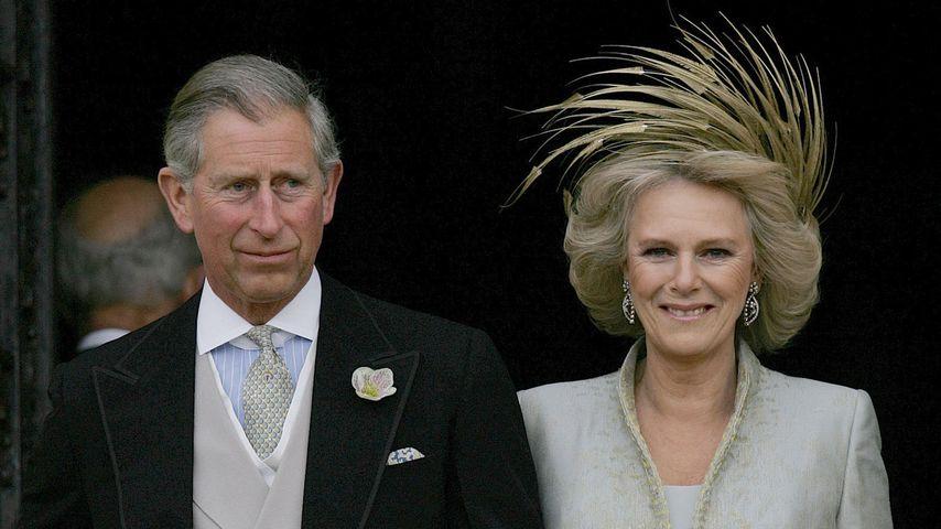 Prinz Charles und Camilla bei ihrer Hochzeit