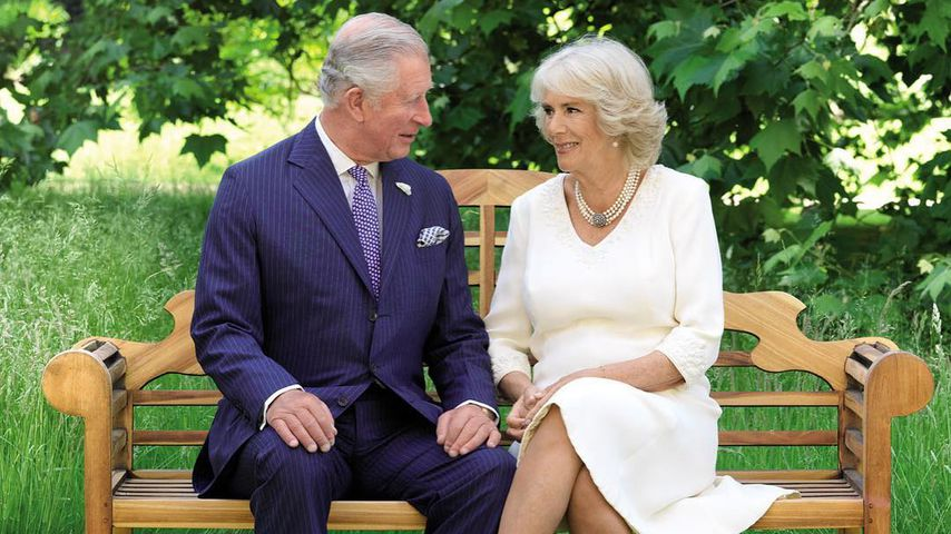 Prinz Charles und Herzogin Camilla auf dem Motiv ihrer offiziellen Weihnachtskarte
