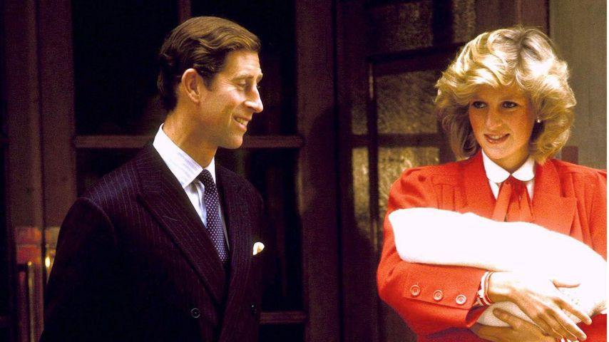 Hielt Prinzessin Diana Harrys Geschlecht vor Charles geheim?