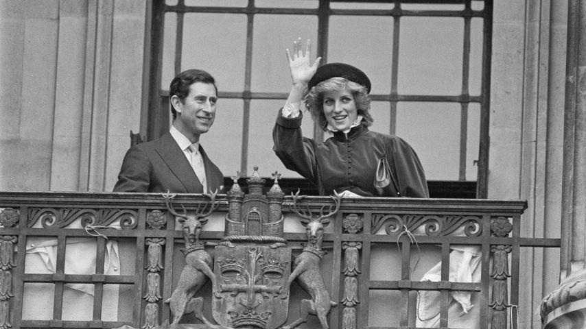 Prinz Charles und Prinzessin Diana, März 1985