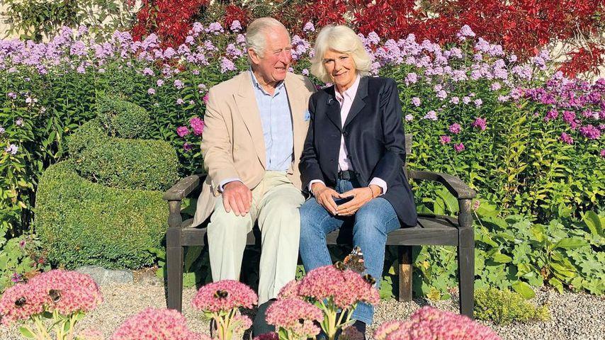 Die Weihnachtskarte von Prinz Charles und seiner Ehefrau Camilla