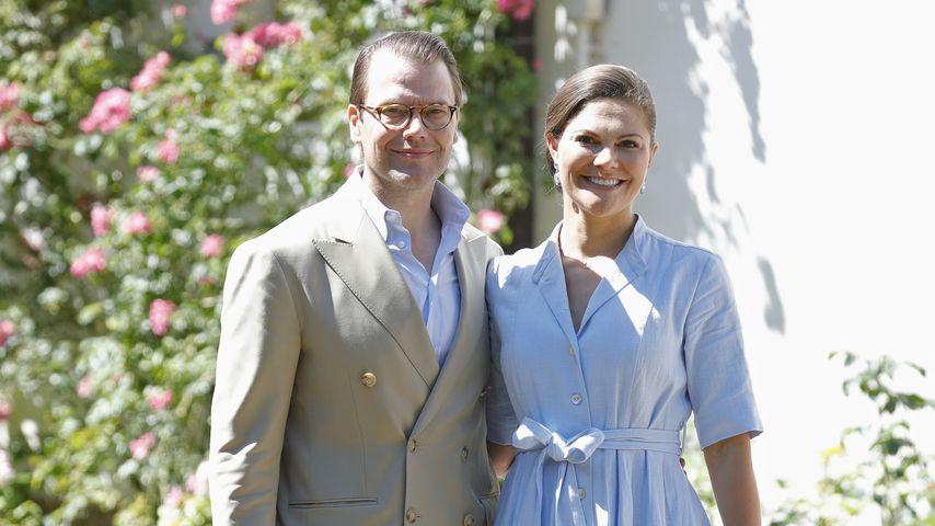 Prinz Daniel und Prinzessin Victoria im Juli 2017