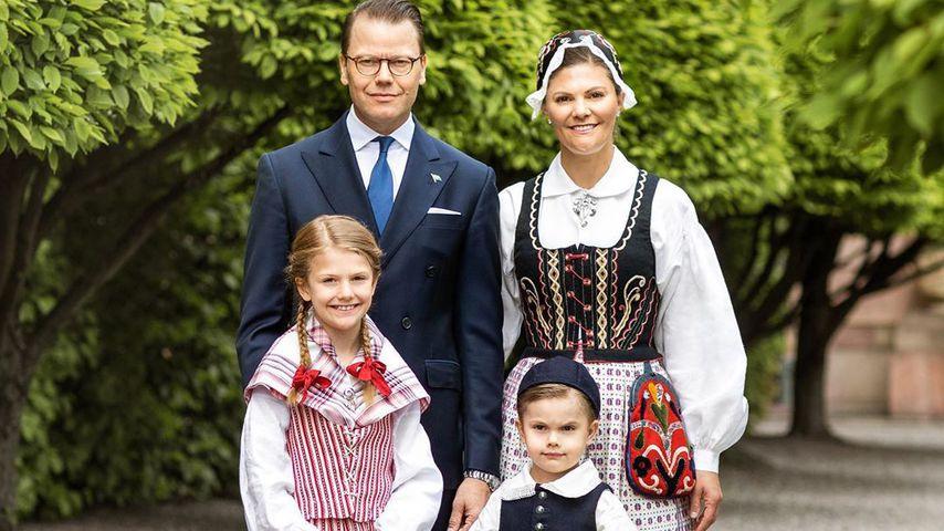 Prinz Daniel, Prinzessin Victoria, Prinzessin Estelle von Schweden, Prinz Oscar von Schweden