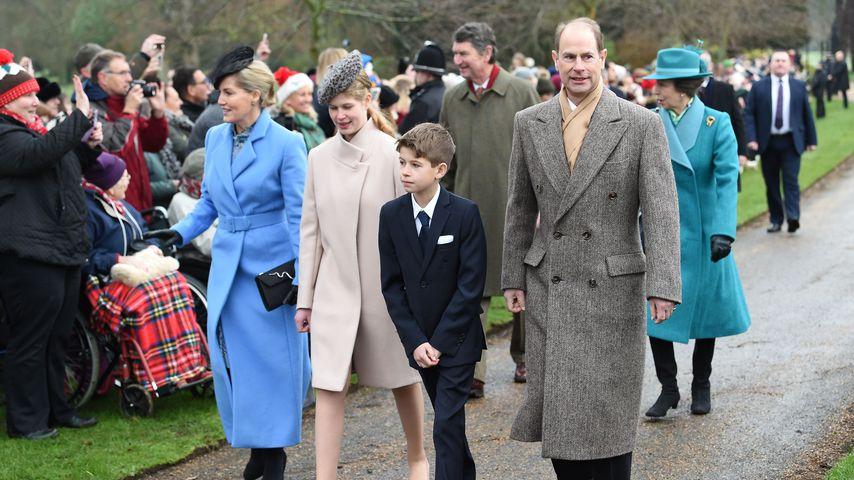 Prinz Edward, Sophie von Wessex und ihre Kinder Louise und James