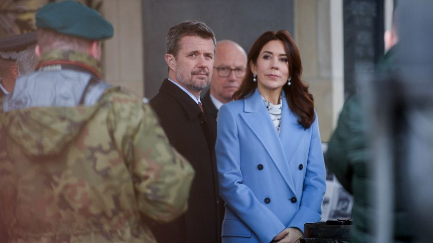 Prinz Frederik und Prinzessin Mary im November 2019