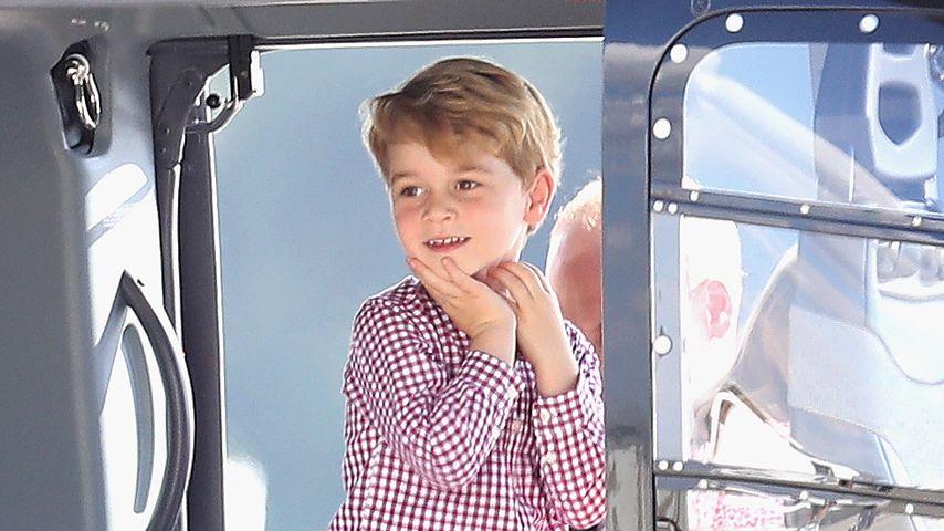 Wie ein Mini-König: So royal isst Prinz George in der Schule