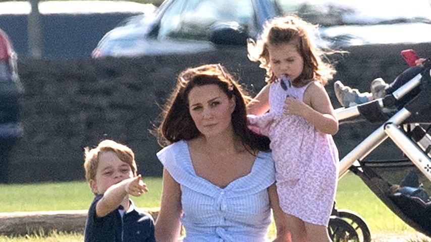 Super-Mama Kate: Die Herzogin zeigt ihre Erziehungstricks