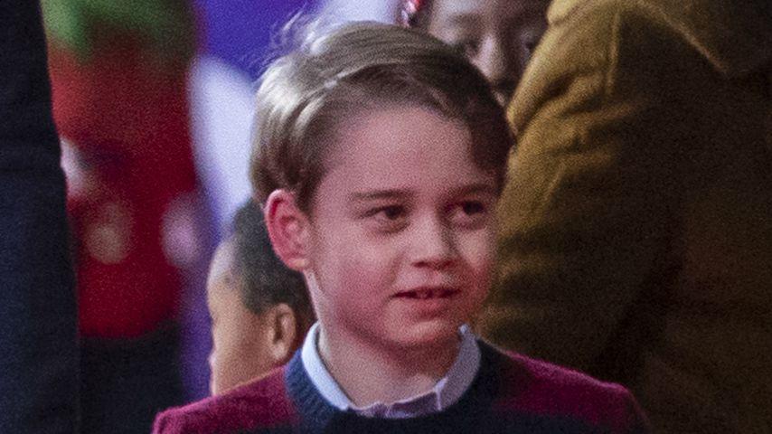 Prinz George im Dezember 2020 in London