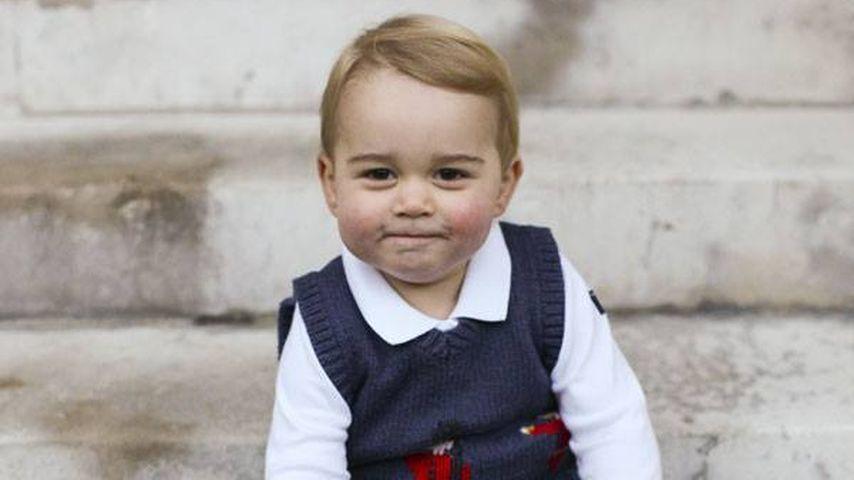 Endlich neue Fotos! Prinz George wird immer süßer