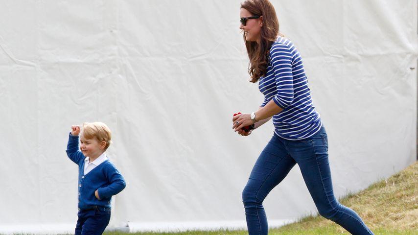 Prinz George und Herzogin Kate