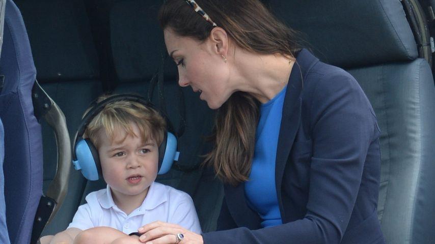 Kleiner Royal hebt ab: Prinz George macht auf süßen Piloten