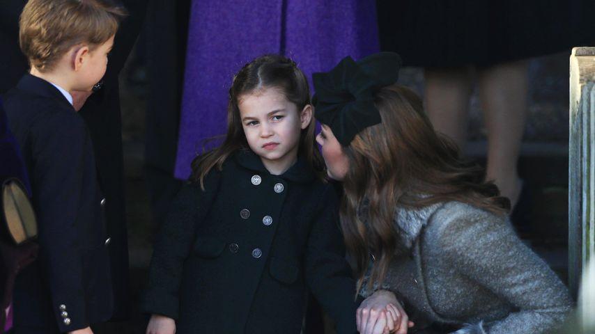 Prinz George, Prinzessin Charlotte und Herzogin Kate an Weihnachten 2019