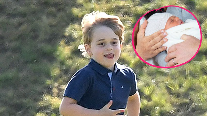Vier Monate vor Geburt: Prinz George nannte sich auch Archie