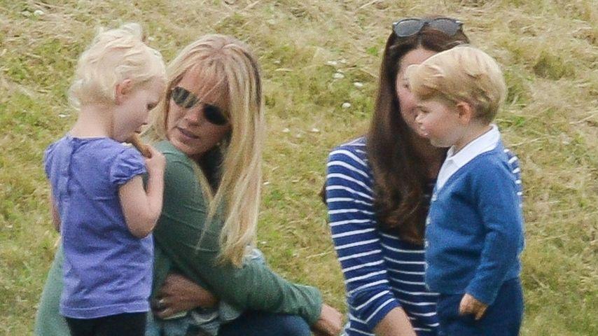 Putziges Pärchen: Prinz George trifft Cousine Isla Phillips