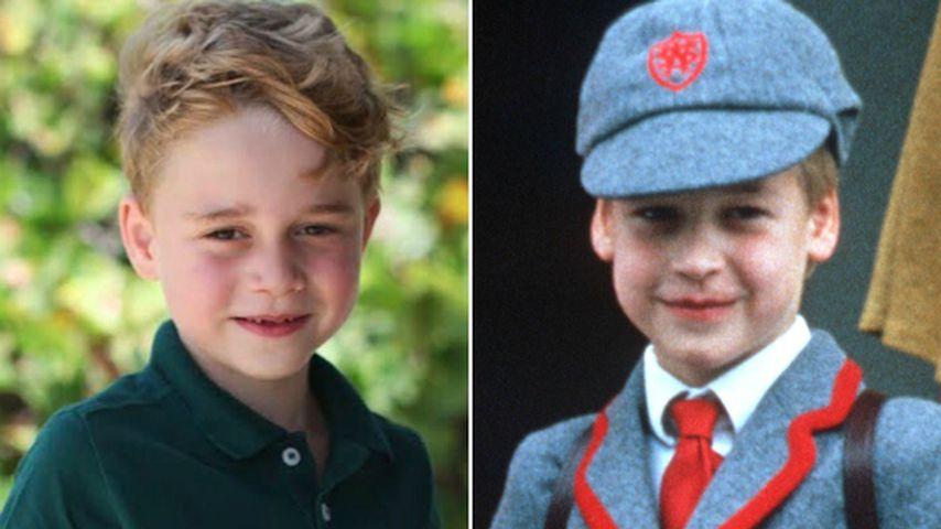 Fans begeistert: George sieht aus wie Papa William als Kind