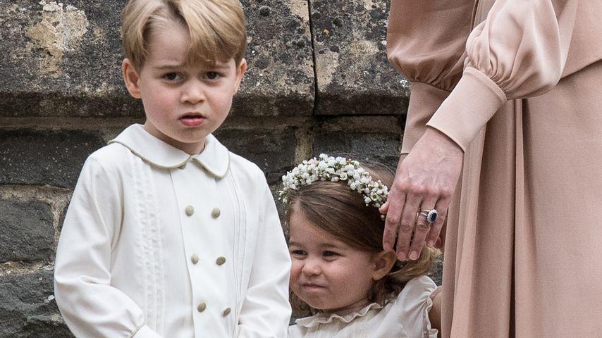 Prinz George und Prinzessin Charlotte bei Pippa Middletons Hochzeit