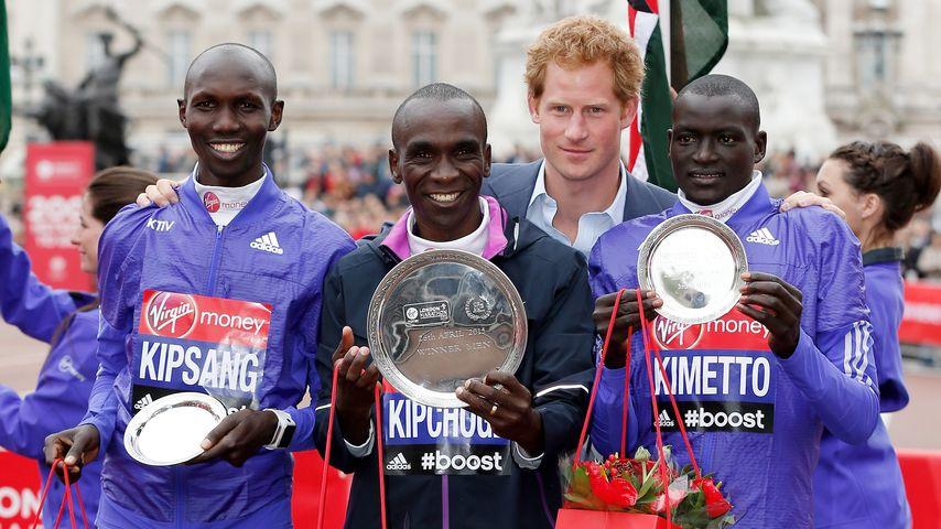 Prinz Harry: Lieber beim Marathon als im Krankenhaus