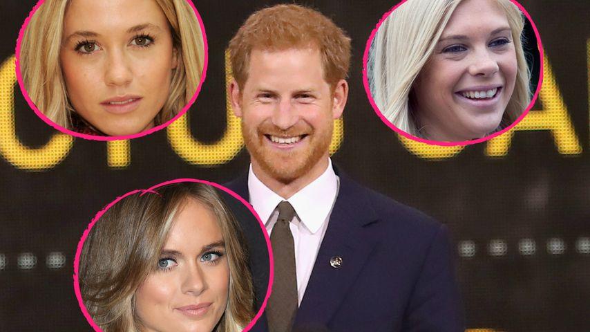 Prinz Harry verlobt: Das waren seine blonden Ex-Herzdamen!