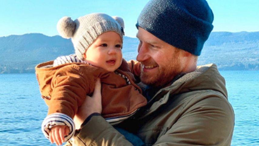 Mit Bommelmütze: Neues Bild von Baby Archie zu Silvester