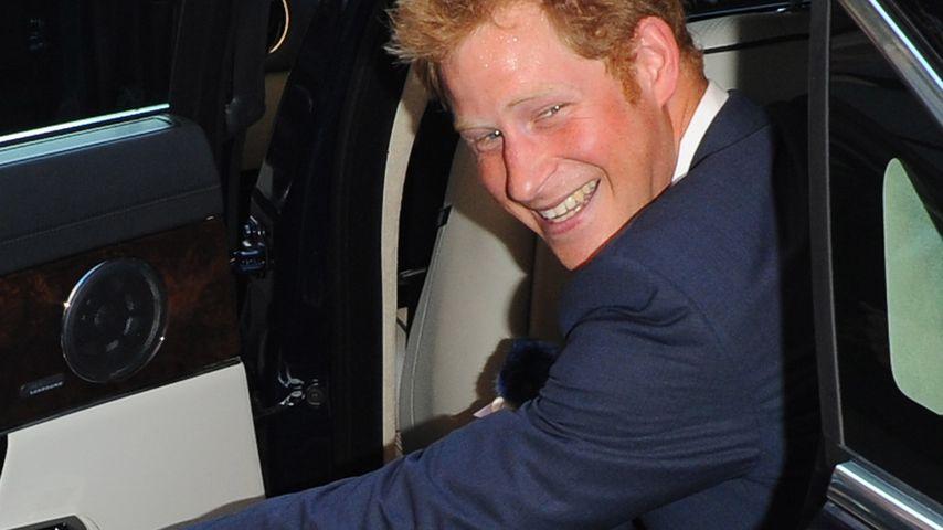 """Prinz Harry: """"Ich zeige George, wie man Spaß hat!"""""""