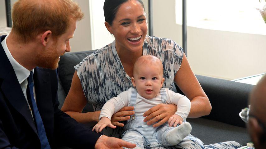 Prinz Harry, Herzogin Meghan und Archie Harrison in Afrika, September 2019