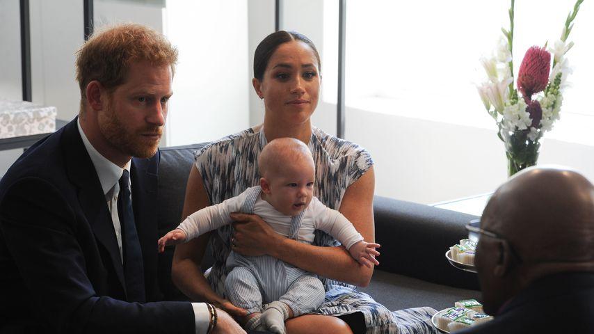 Prinz Harry, Herzogin Meghan und Archie Harrison
