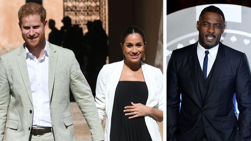 Das haben Harry & Meghan Idris Elba zur Hochzeit geschenkt!