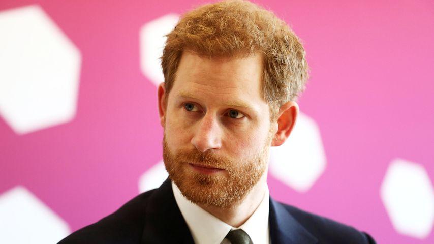 Prinz Harry im April 2018