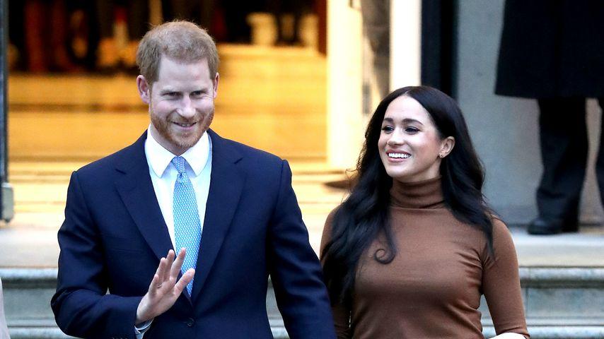 Prinz Harry und Herzogin Meghan im Januar 2020