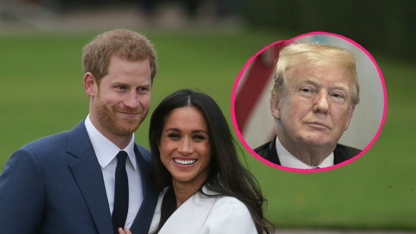 Donald Trump nicht eingeladen: Das schenkt er Meghan & Harry