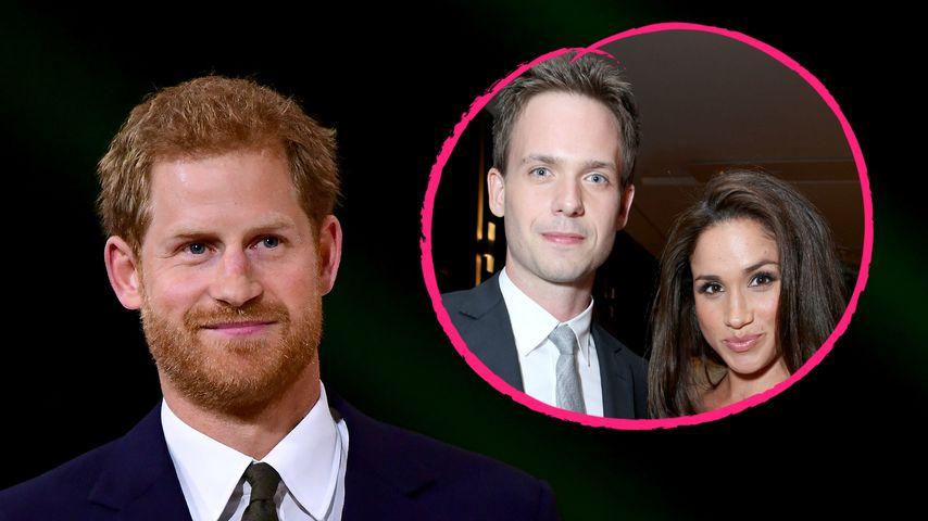 """Neidisch auf """"Suits""""-Geknutsche? Prinz Harry am Serien-Set!"""