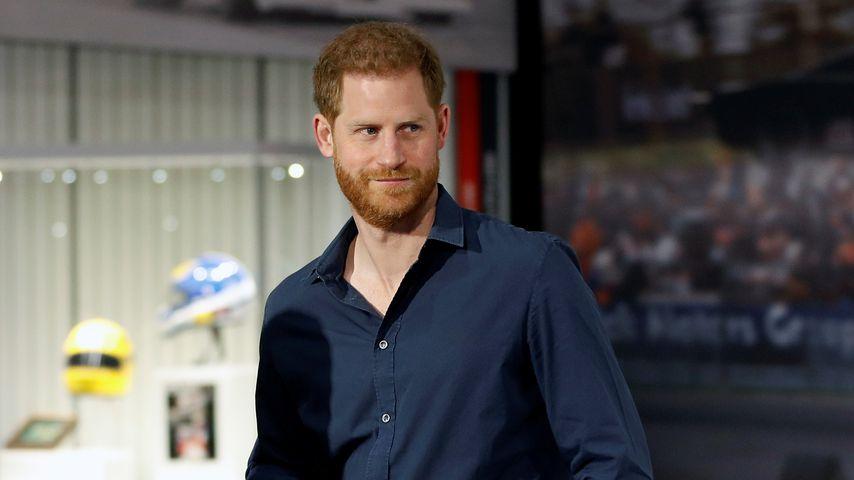 Prinz Harry in Northampton, 2020