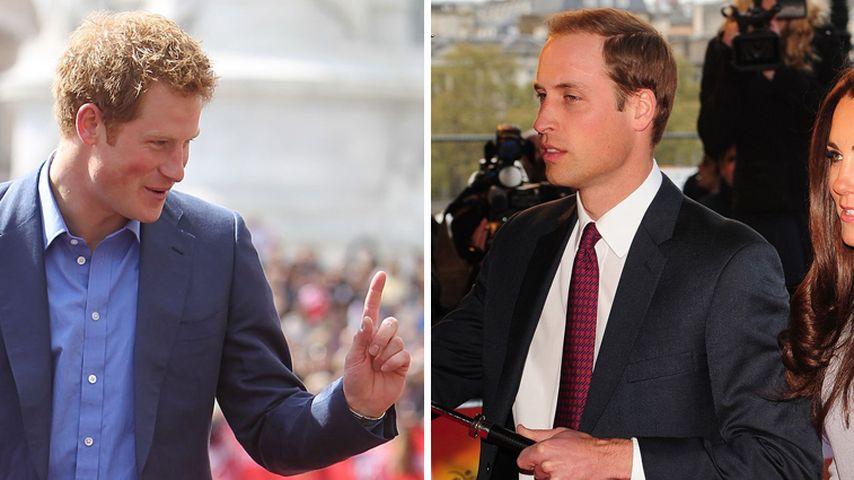 Kate & William sind von Prinz Harry total genervt!