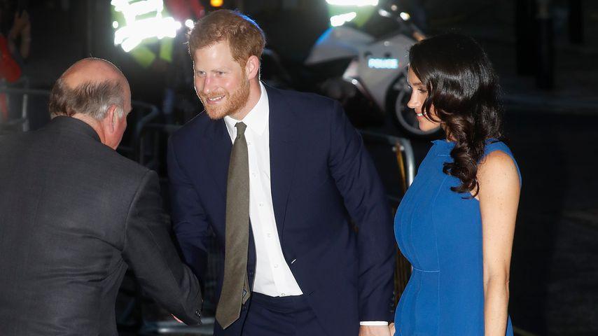 Prinz Harry und Herzogin Meghan bei einer Gala in London