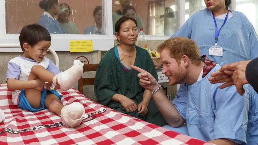 Rührend mit Kindern: Wäre Prinz Harry nicht ein toller Papa?