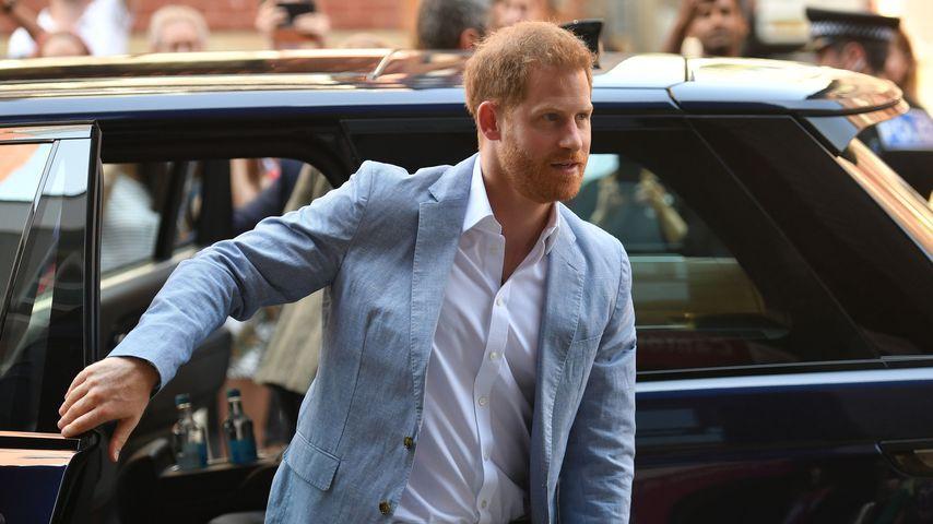 Prinz Harry beim Besuch der Sheffield Hallam Universität, Juni 2019