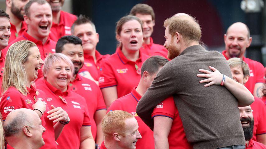 Prinz Harry bei der Verkündung der britischen Invictus-Games-Teilnehmer für 2020