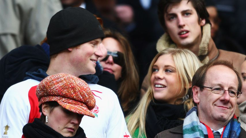 Prinz Harry und seine Ex Chelsy Davy 2008 in London