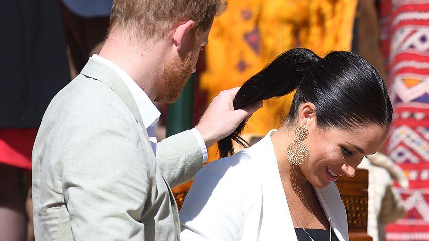 Prinz Harry und Herzogin Meghan in Rabat
